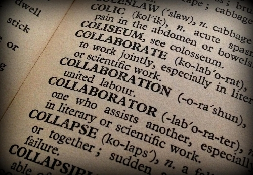 dictionary definition of collaboration