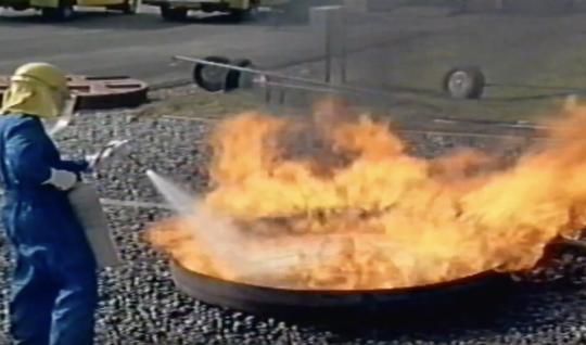 Extinguishing Lead Free Petrol Fires