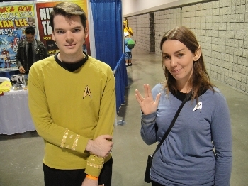 Star Trek fans dress up as the characters