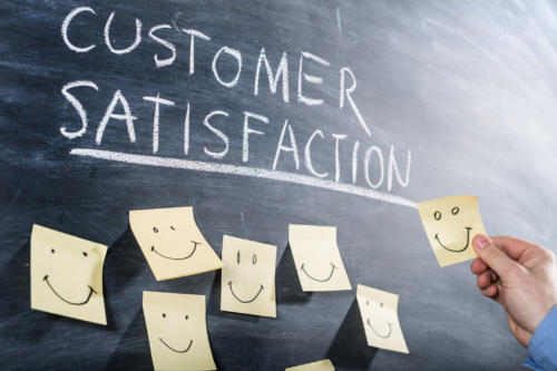 customer satisfaction is vital