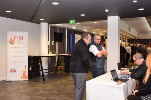 FIM Expo doors open