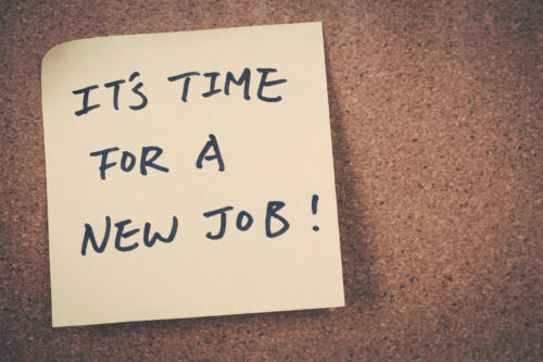 time for a new job... or a new qualification?