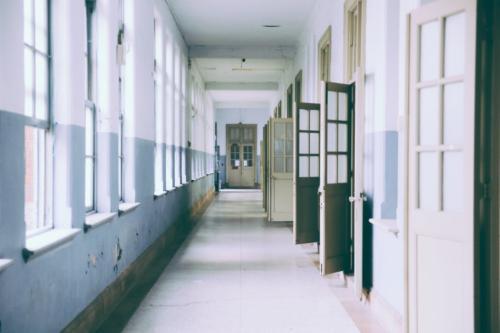 corridor in a building
