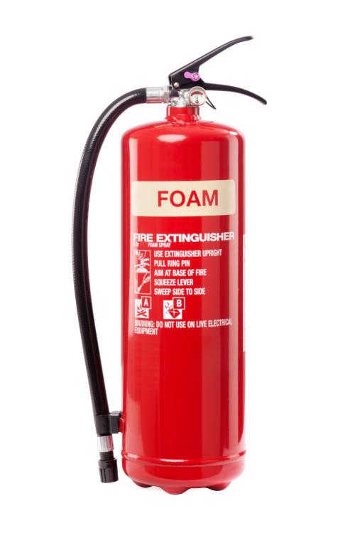 foam fire extinguisher
