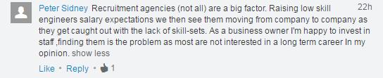 LinkedIn Comment #3