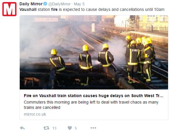daily mirror headline