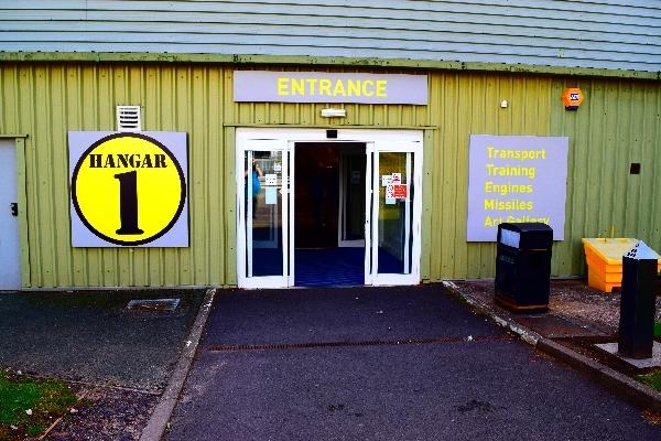 Entrance of Hanger 1