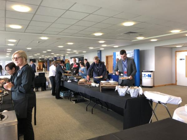 Free lunch at FIM Expo Doncaster