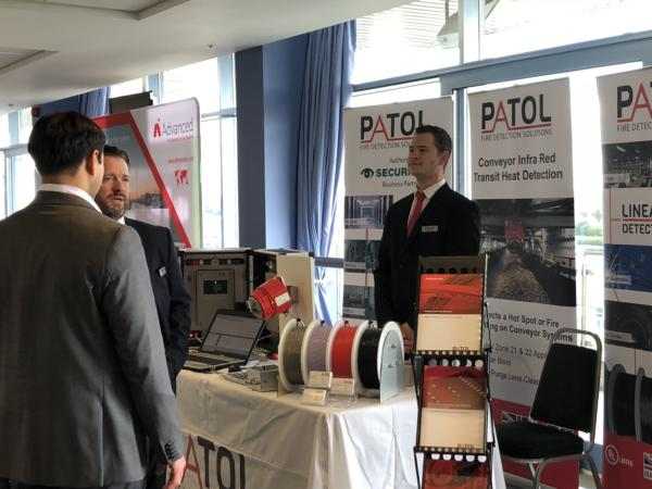 Exhibitors from the fire industry showed their latest fire detection and alarm products