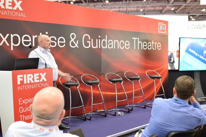Image: martin Duggan gives a seminar