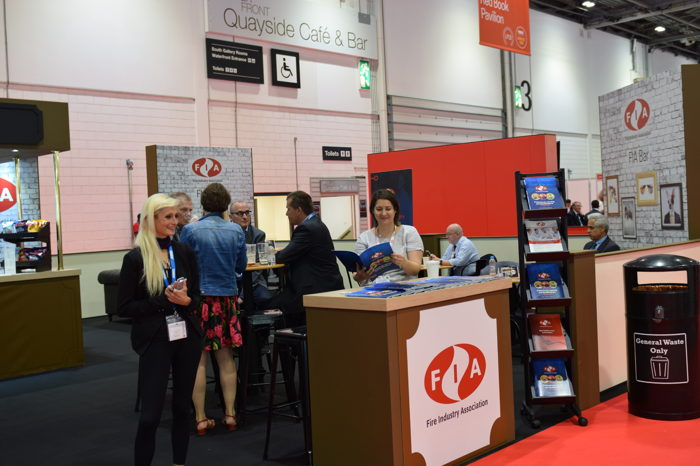 Image: The FIA stand at FIREX