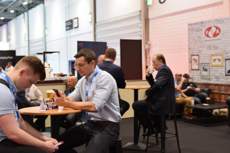 Image: The FIA bar at FIREX was a good place for networking
