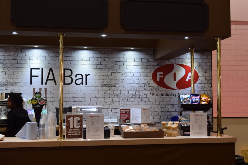 Image: The FIA bar at FIREX