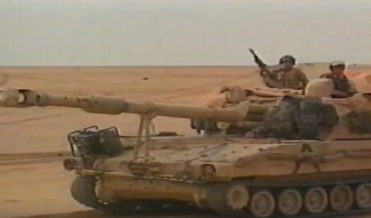 Kuwait Tank Farm Fires | Video (1992)